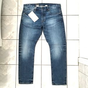 G Star Raw Mens Straight Tapered Jeans